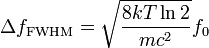 Doppler Broadening equation 11 Picture